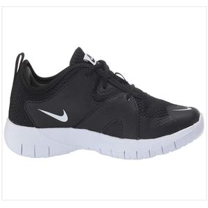 Nike Black/White Youth Flex Contact 3 Shoes